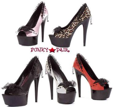 609-Jezebel, 6 Inch satin Pump Exotic Dancer shoes