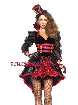 3PC Victorian Vamp Costume