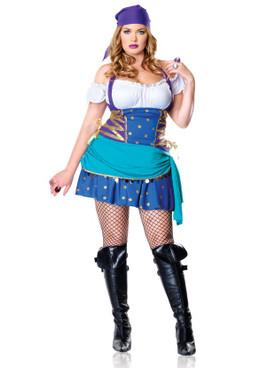 LA83486X, 2PC Gypsy Princess Costume