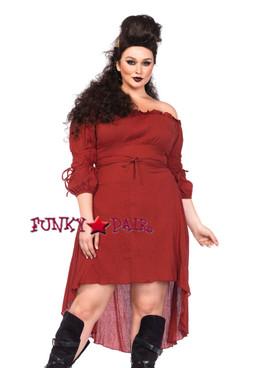 LA2700X, Plus Size Peasant Dress