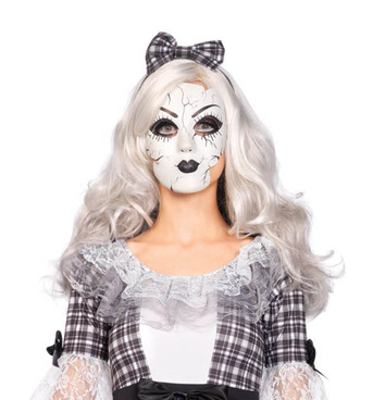 LA A2757, Porcelain Doll Mask