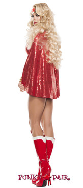 Powerful Women Super Hero Costume (S5019)