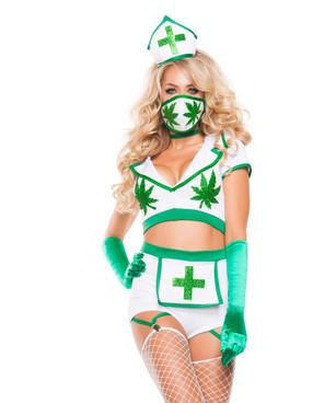 S5160, Nurse High Rave Costume by Starline