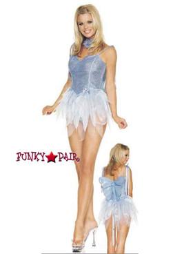 Blue pixie adult costume (8036) by Leg Avenue