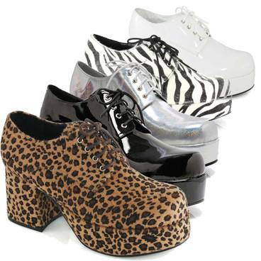 Men's 312-PIMP  3 Inch Disco Platform Shoes