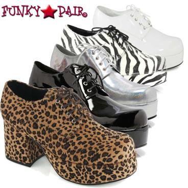 Costume Shoes   Men's 312-PIMP  3 Inch Disco Platform Shoes
