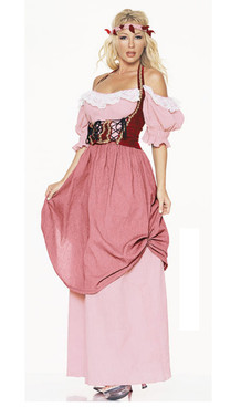 Renaissance maiden costume (8943)