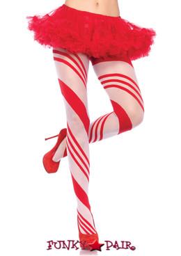 LA7944, Candy Striped Pantyhose