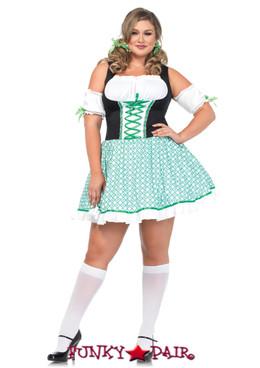 LA86168X, Clover O' Cutie Costume