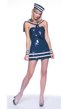 Vinyl sailor costumer (V8981)