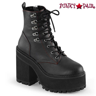 Demonia Assault-100, Lace up Ankle Boot