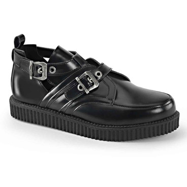 Creeper-615 Goth Platform Creeper by Demonia