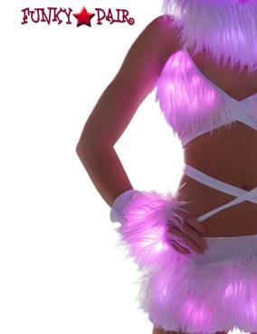 J. Valentine | FF428, Light-up Gloves Color Pink