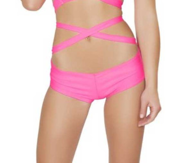J. Valentine RB401, Rave Basic Short color Hot Pink