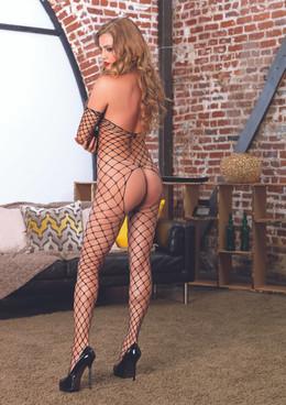 LA89142, Fence Net Bodystocking