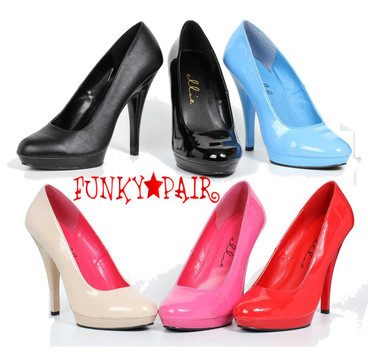 "Ellie Shoes | 521-Femme-W 5"" Wide Width Pumps"