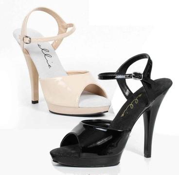 """521-Juliet-W,  5"""" Heel Wide Width Sandal Ellie Shoes"""