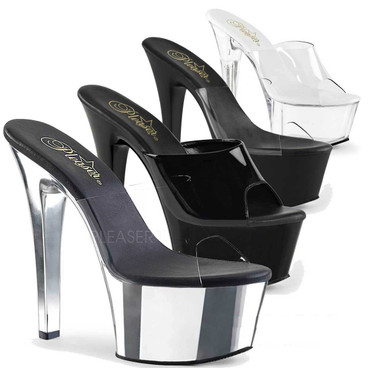 Pleaser Shoes Aspire-601, Vegan Slide