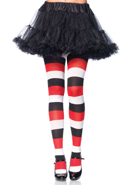 LA7948, Opaque Striped Tights