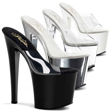 Pleaser | TABOO-701, Exotic Dancer Platform Slide