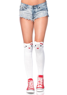 LA6921, Kitty Over the Knee Socks