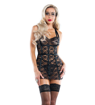 SL6052, Lace Bodycon Dress