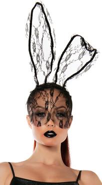 SL5028, Lace Bunny Mask