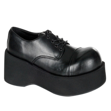 Vegan Leather Platform Punk Shoes Demonia   Dank-101
