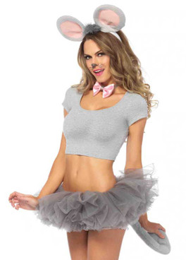 LA2158, Sexy Mouse Kit Adult costume accessories
