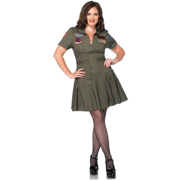 TG85046X, Top Gun Flight Dress