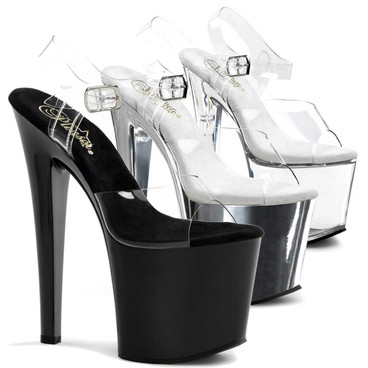 Stripper Shoes | TABOO-708, 7.5 Inch Heel Ankle Straps Platform Shoes