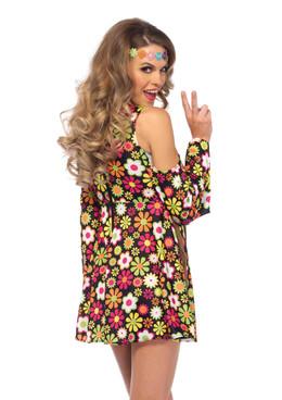 LA-85610, Starflower Hippie Girl Costume