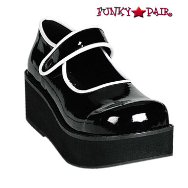 Women's Gothic Shoes | SPRITE-01 brand Demonia
