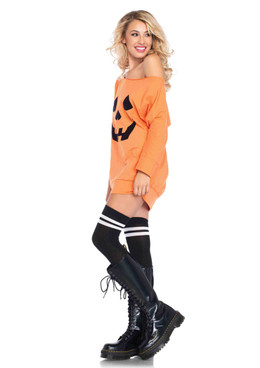 LA86655, Jersey Pumpkin Dress