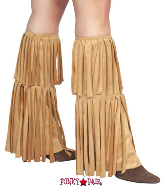 LW4209, Fringed Leg Warmer
