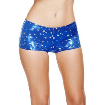 SH226, Silver Stars Boy Shorts