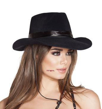 H4571, Black Cowboy Hat