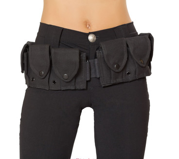 Belt With Pouches