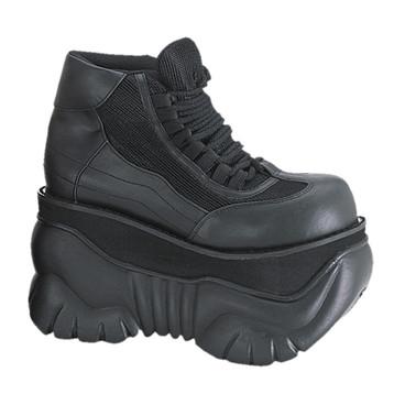 "Demonia BOXER-01, Men's 4"" Platform Sneaker Shoes"