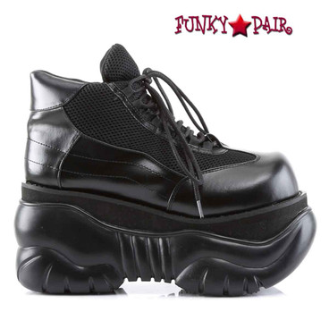 BOXER-01, Men's Gothic Sneaker Shoes by Demonia