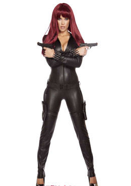 R-4594, Assassin CatSuit Costume by Roma Costume