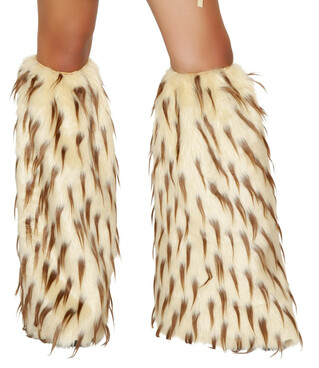 LW4473, Fur Leg Warmers