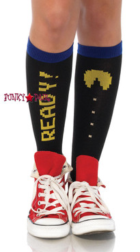 PM5613 Pac Man Knee High Socks