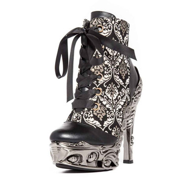 RENA, Women's Victorian Ankle Boots by Hades Shoes
