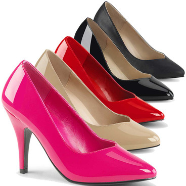 Plus Size Crossdresser Pumps Pink Label | Dream-420