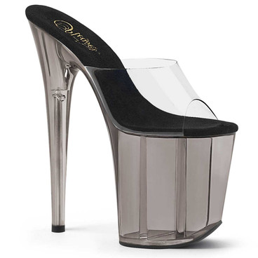 Flamingo-801T, 8 Inch High Heel Tint Platform Sandal