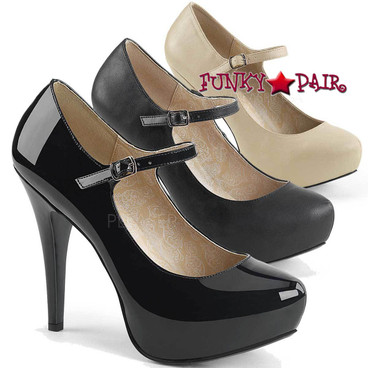 Pink Label | Chloe-02 Women Mary Jane Pump Big Size 9-16