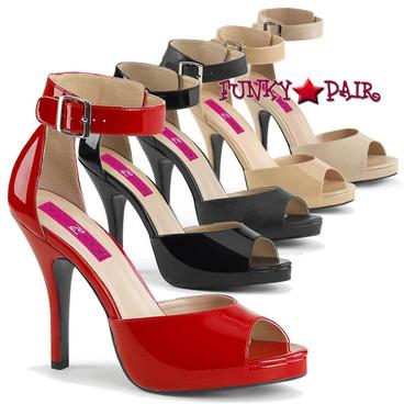 Pink Label | Eve-02, Buckle Ankle Strap Sandal Size 9-16