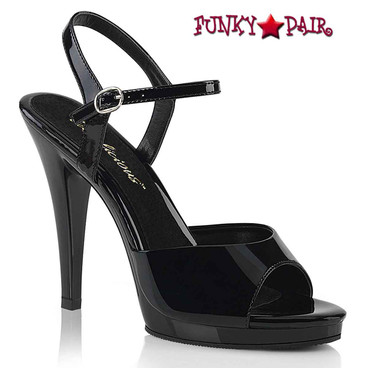 "Fabulicious | Flair-409, 4.5"" Cocktail Ankle Strap Sandal"