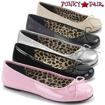 Pink Label | Anna-01, Adult Ballet Fat with Bow | FunkyPair